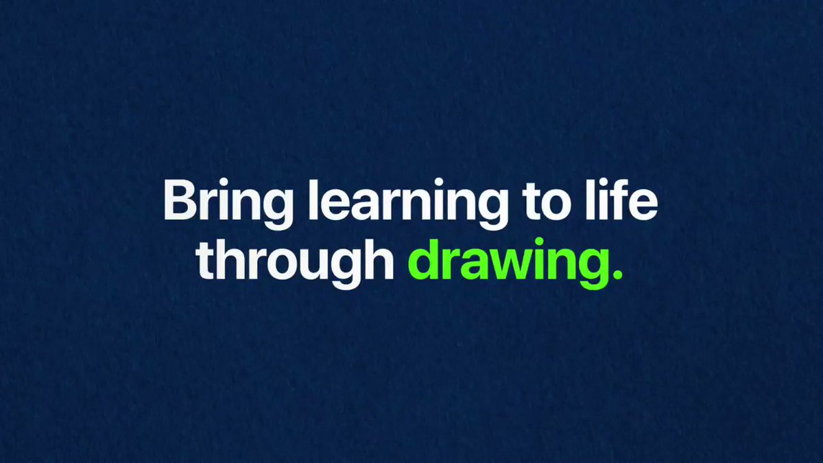 Image for the Tweet beginning: Discover how #drawing can encourage