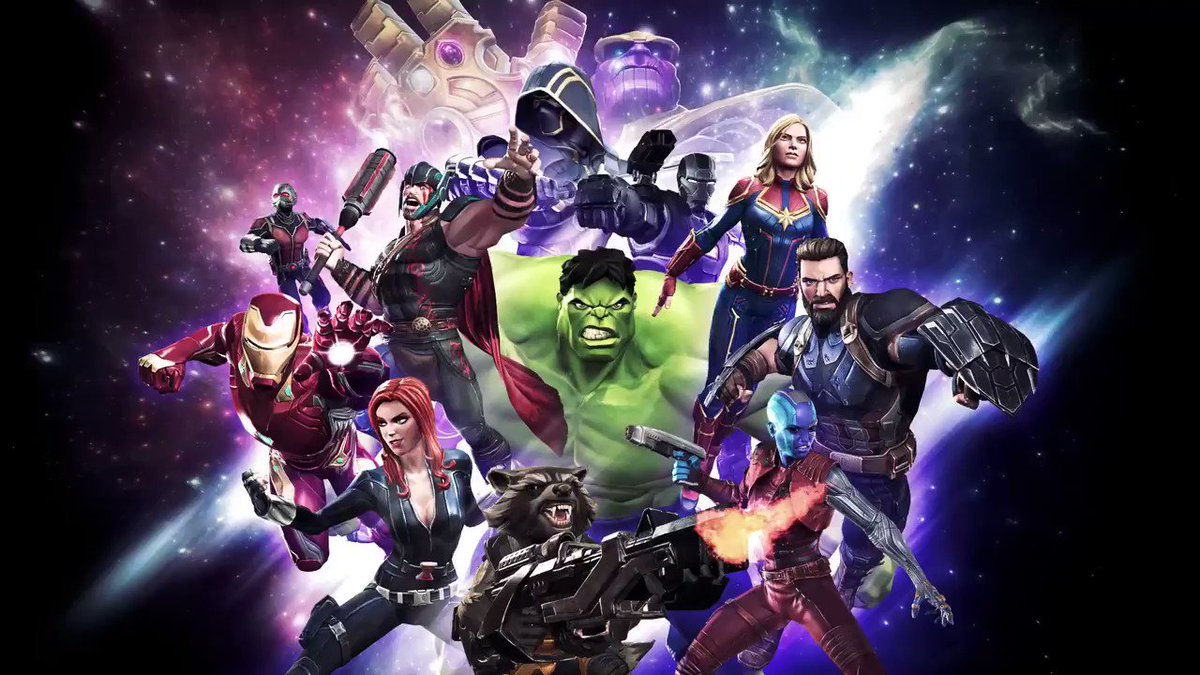 Image for the Tweet beginning: Rally your Avengers and prepare