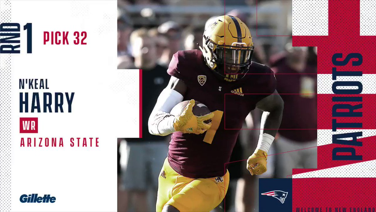 New England Patriots's photo on N'Keal Harry