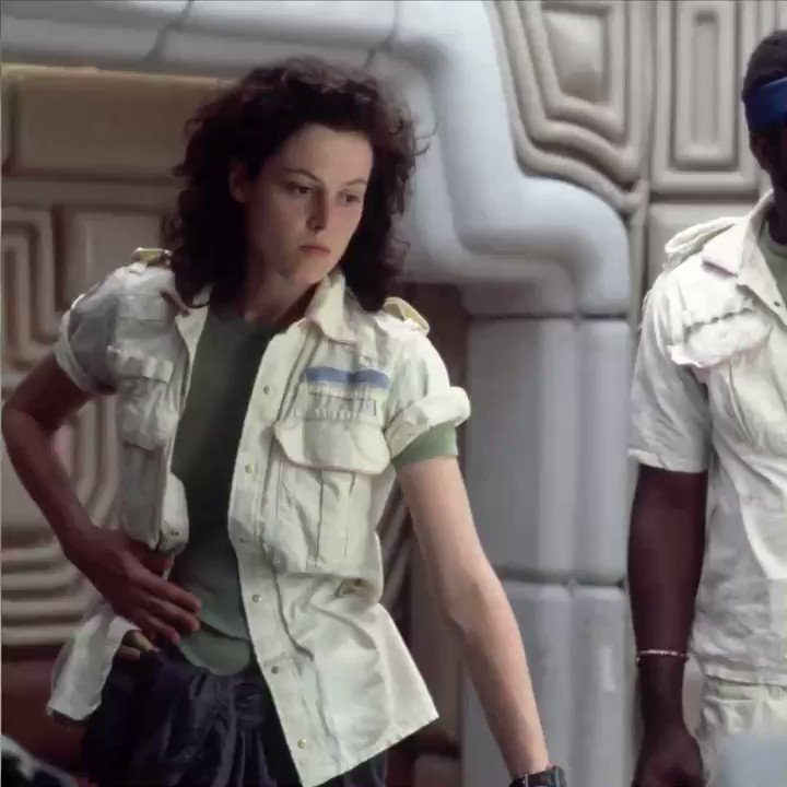 Those high school students that made the #AlienPlay? They're friends with Sigourney Weaver now. NBD.