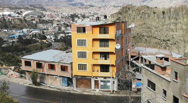 Bolivia Impresionante Derrumbe De Casas Tras Deslizamiento