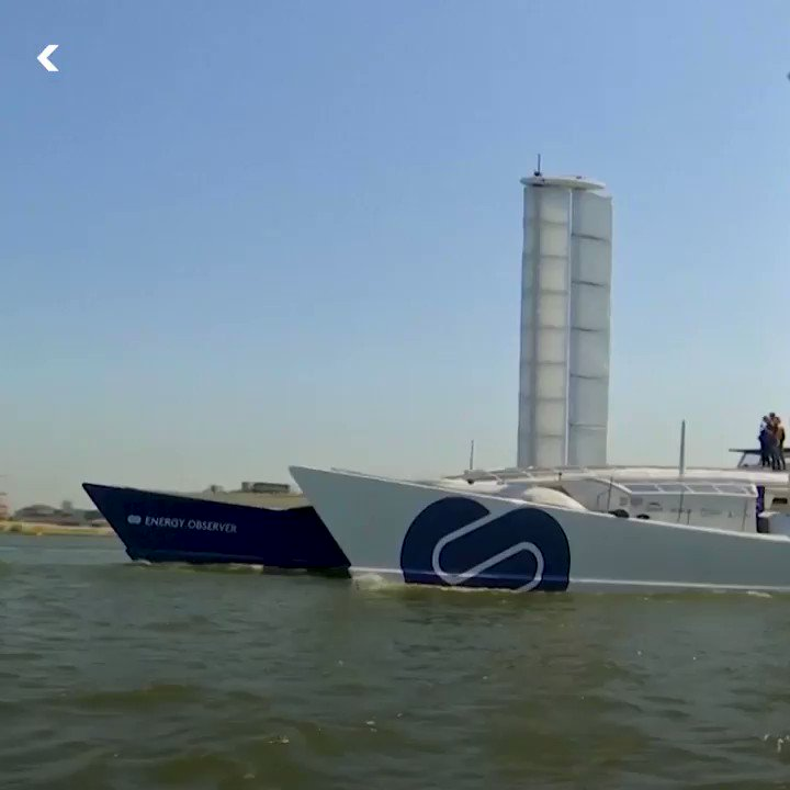 This is the worlds first boat to be powered solely by renewable energy and hydrogen 😱⛵