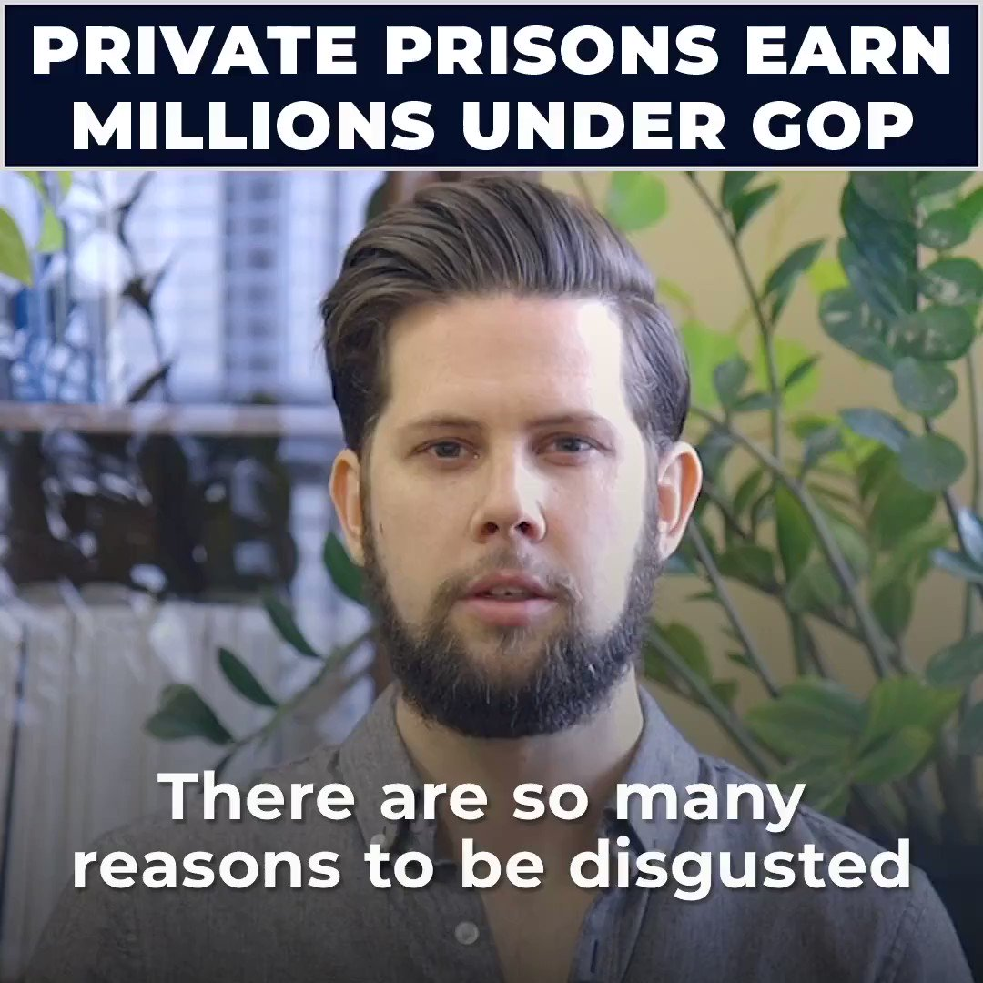 We have a racist criminal justice system that costs us billions of dollars, ruins lives and allows private prisons to profit off of human misery. The private prison racket has got to end.