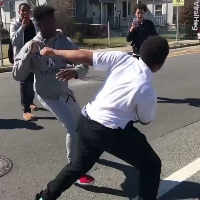 Much respect to this brother stopping young brothers from fighting