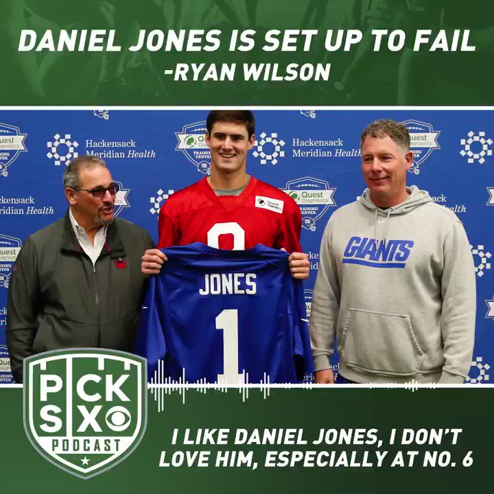 Is Daniel Jones set up to fail? @ryanwilsonCBS thinks so.