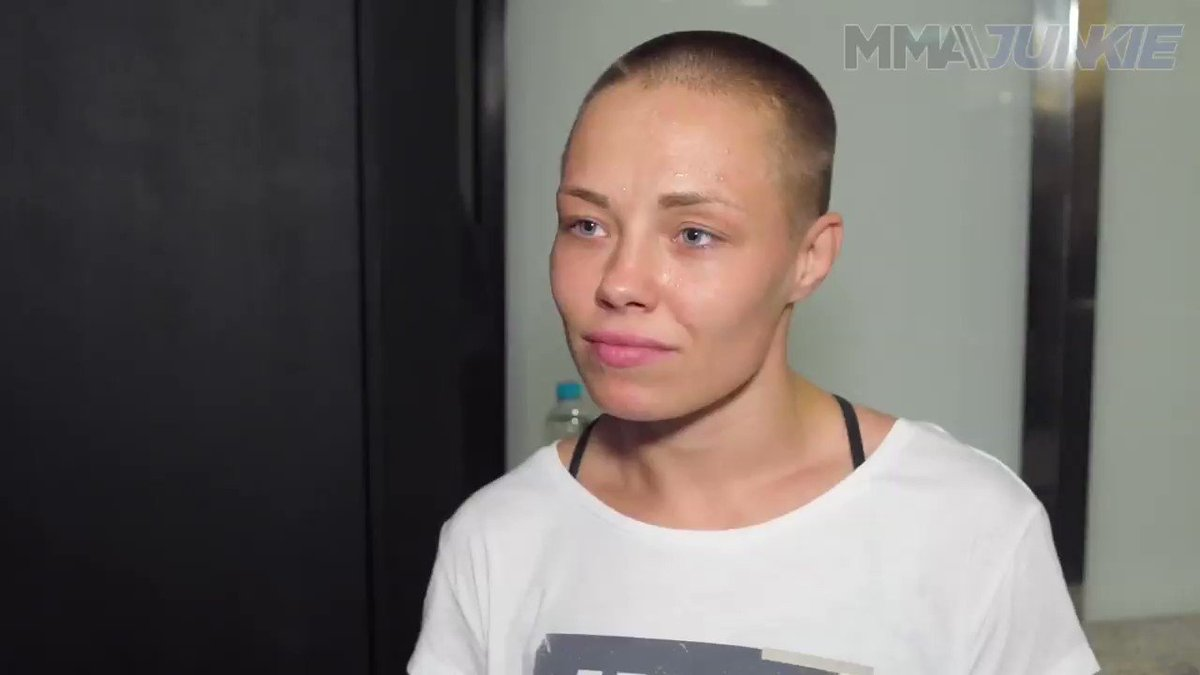 Champ @RoseNamajunas has opened the betting underdog in all four of her UFC title fights. She has 💭💭 on why that may be. #UFC237  Full interview: http://wp.me/p3WzJ0-1HHJ