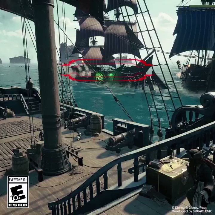 Have you had a chance to jump aboard the Leviathan in #KingdomHearts III?   It's not all plain sailing...