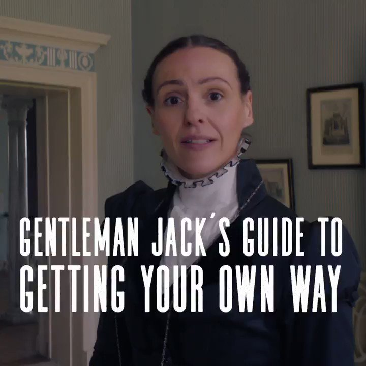 Sometimes, girls, you've just got to show them who's boss. 👊 #GentlemanJack