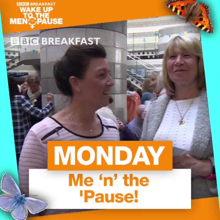 What will our #BBCMenopause week involve? @JayneMcCubbinTV has the run down ⬇️  #BBCBreakfast #Menopause