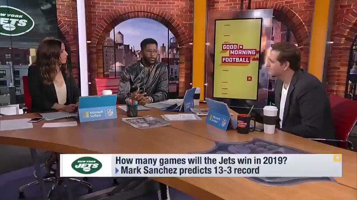 I do think theyre a playoff team. Youve got our attention, @PSchrags 👂 (via @gmfb)