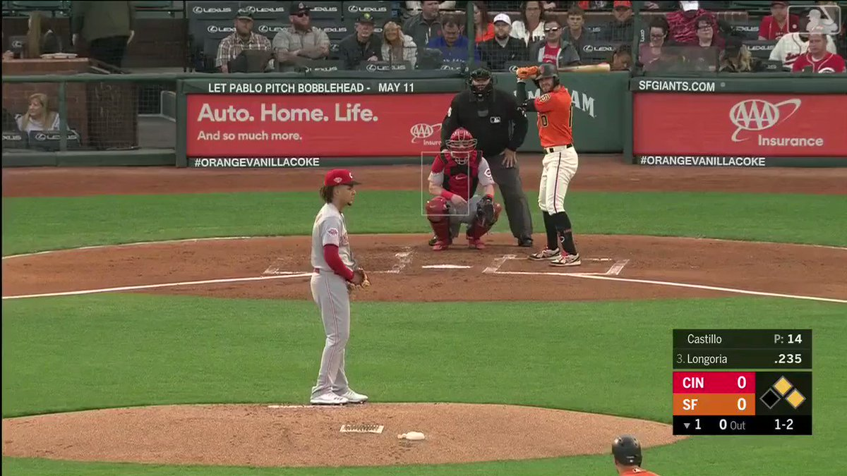 Please enjoy this 60 second video of Luis Castillo throwing nasty changeups.   #BornToBaseball