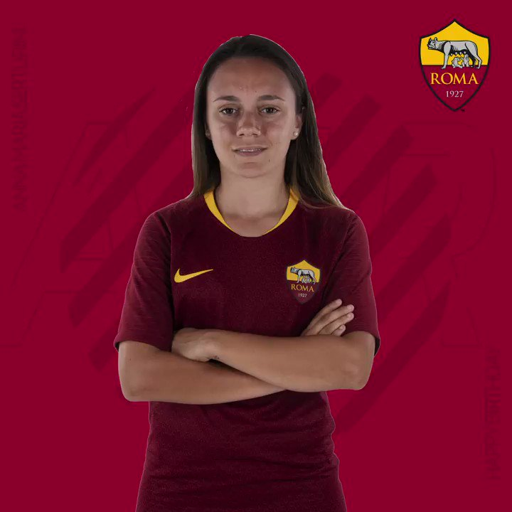 A big happy birthday to our top goalscorer, Annamaria Serturini! 🥳   Tanti auguri! 🐺 #ASRoma #ASRomaWomen