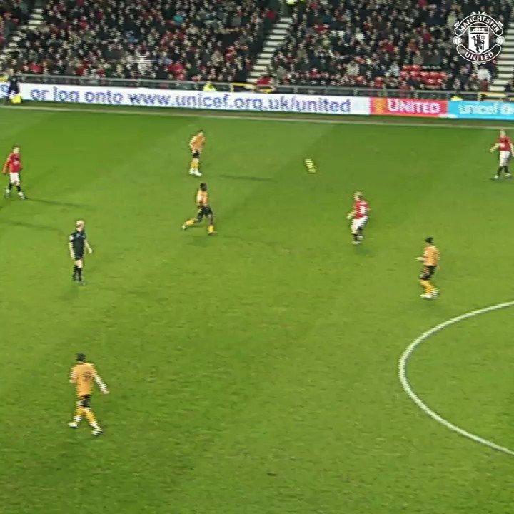 Shot power level: 💯  @Anto_V25 #MUFC