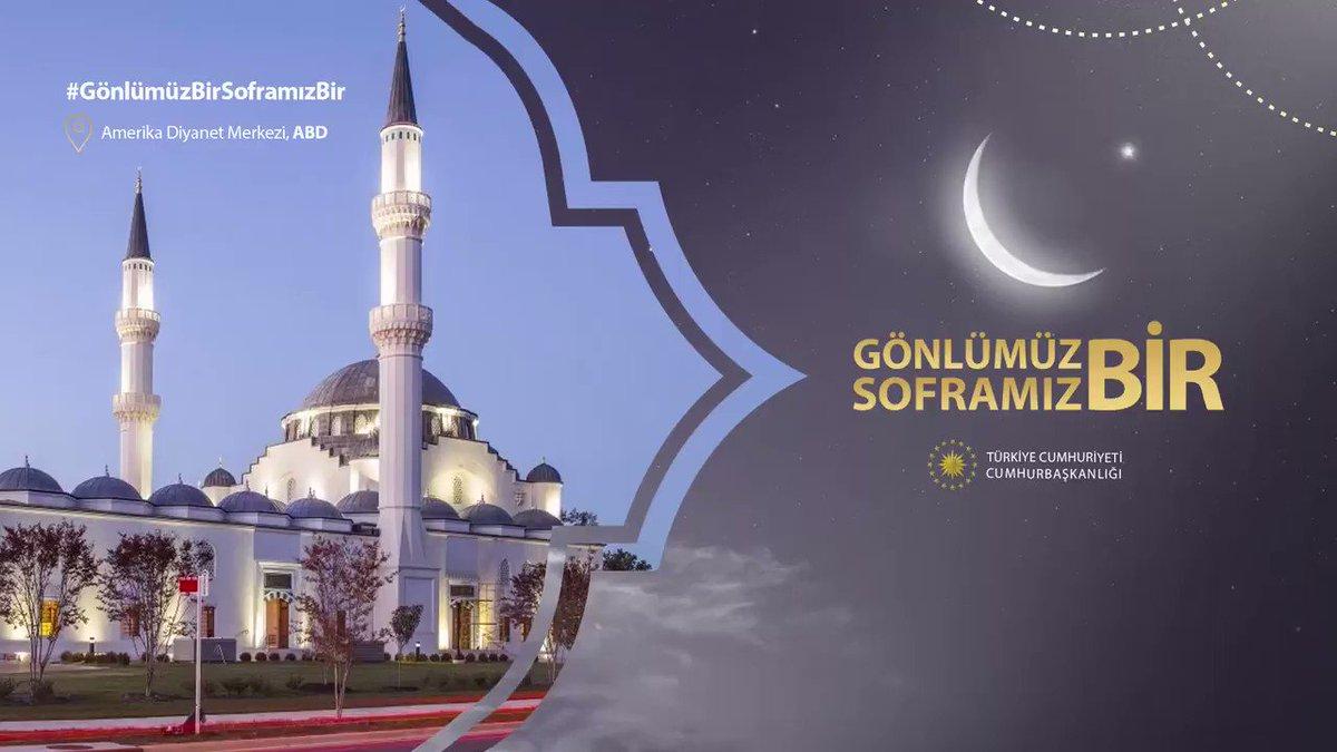 Amerika Diyanet Merkezi, kurulduğu günden beri ABD'de müslüman toplum için hayatın merkezi, bulunduğu çevrenin kalbi olmuştur.   ABD'de bu güzel külliyede Ramazan ayını yaşayan müslüman kardeşlerimizin tüm Türkiye'ye selamı var! #GönlümüzBirSoframızBir