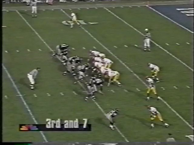 No one within 40 yards of @keyshawn. 1995 Cotton Bowl. #FightOn