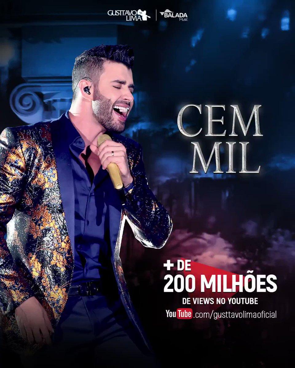 200 milhões, bb!!! 🌽🌽 Falar o que, né?! Música do ano... #Hit2019 é Cem Mil!!! 😎💥 #Gratidão #CemMil #OEmbaixador