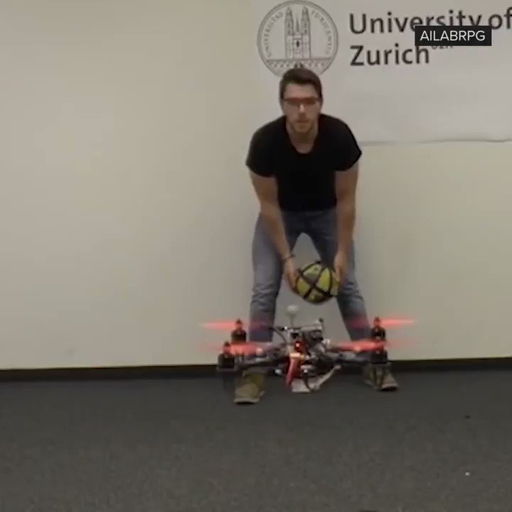 This drone dodges balls as well as I dodge responsibilities