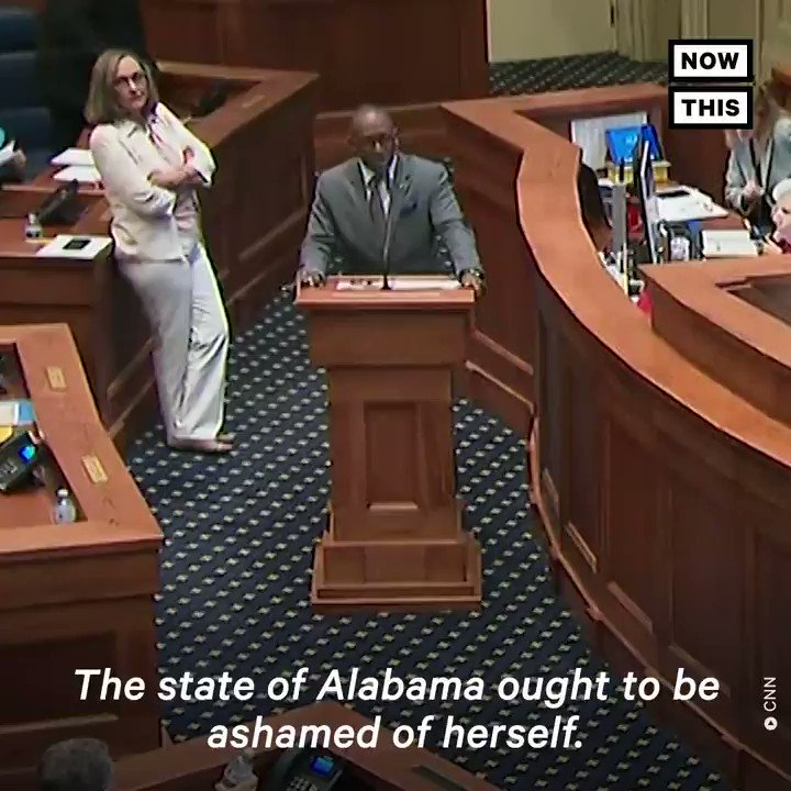 'The state of Alabama ought to be ashamed of herself.' — These Alabama state senators spoke up against the abortion ban