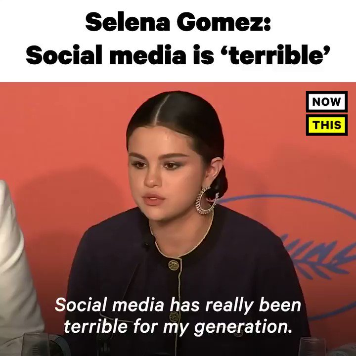 'Social media has really been terrible for my generation.' — @selenagomez was not afraid to get real about the dangers of social media