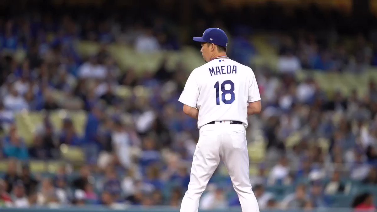 Kenta Maeda is the first @Dodgers pitcher to strike out 12+, allow 0 R and drive in 2+ runs since Brad Penny in 2007.