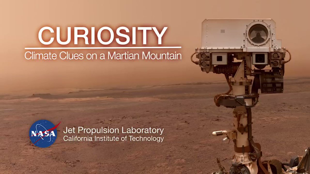 Ever wanted to visit Mars? A new video shows what it would be like to soar over Mount Sharp just like @MarsCuriosity! WATCH IT >> go.nasa.gov/2WLoHCy