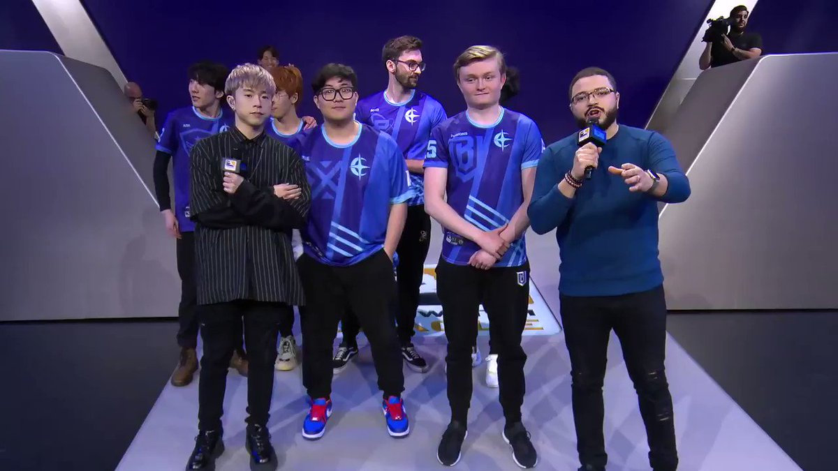 The Atlantic Division win the All-Star Game powered by @IntelGaming! #OWL2019 Congratulations & thank you to ALL of our All-Stars. You guys are INSANE.