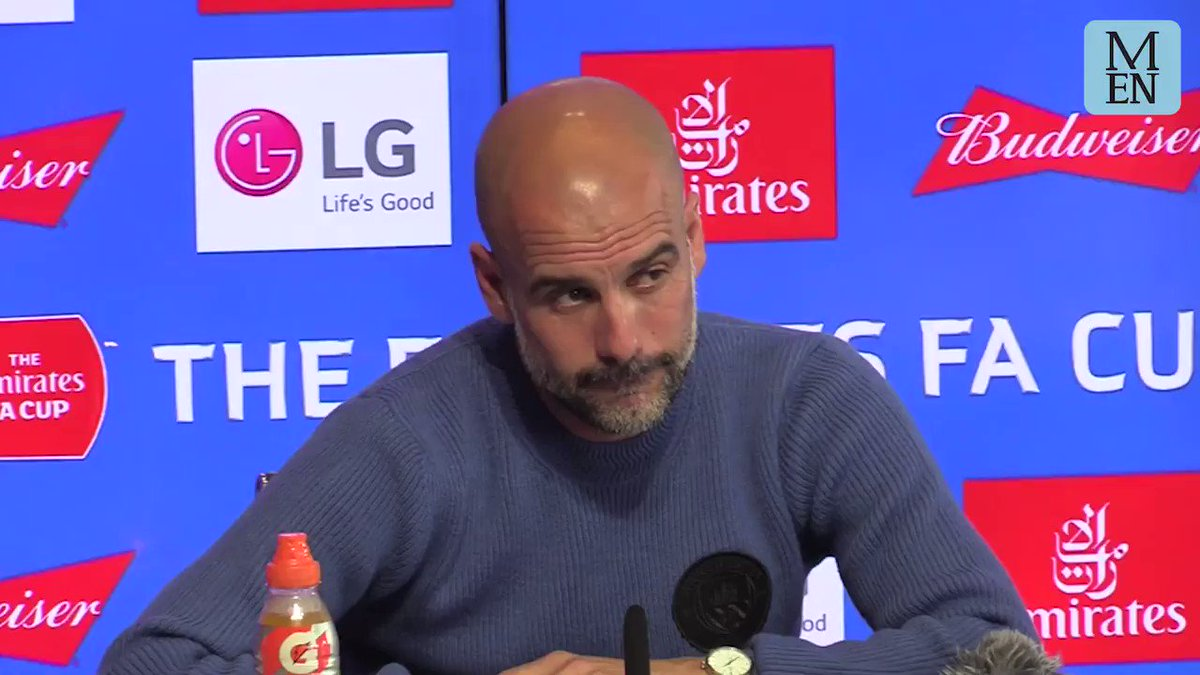 """Pep: """"How many times do I say, i'm not going to Juventus."""" #MCFC"""