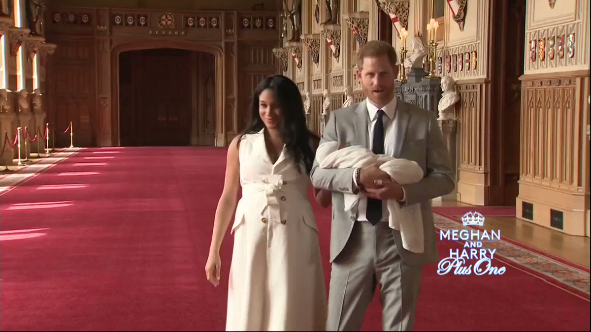 "Will Meghan Markle make the #royalbaby's food from scratch? Watch ""Meghan and Harry Plus One"" TONIGHT to find out, 8 p.m. ET on CBS. cbsn.ws/2WfbwwR"