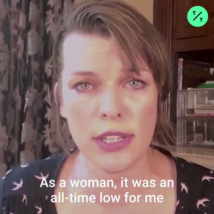 """""""This is going to be a disaster for our country."""" Actress @MillaJovovich shares her """"all-time low"""" abortion story as she fights back against Georgia's anti-abortion law"""
