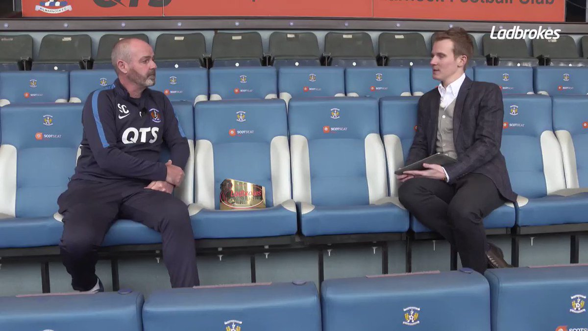 • European football for the first time in 18 years • Top 3 finish fo the first time since 1966 🤔 Does Steve Clarke get the credit he deserves? 🗣 @darrellcurrietv asks the man the himself... #Killies | @SPFL