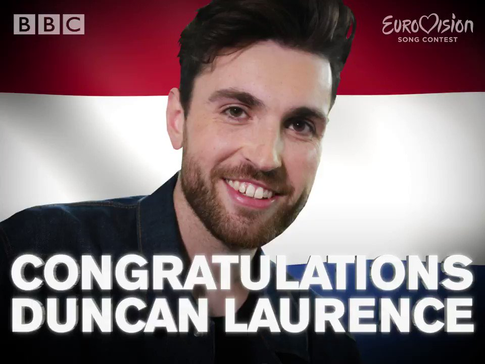 THE NETHERLANDS HAVE WON #EUROVISION 2019!