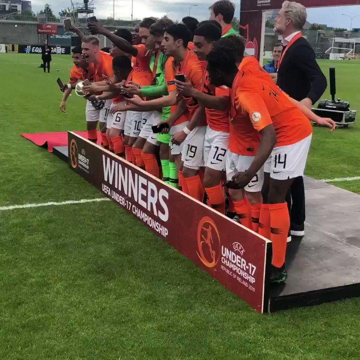 🏆🔶🇳🇱  #U17EURO #OranjeO17
