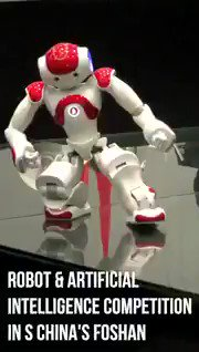 Image for the Tweet beginning: #Robot and #ArtificialIntelligence competition in