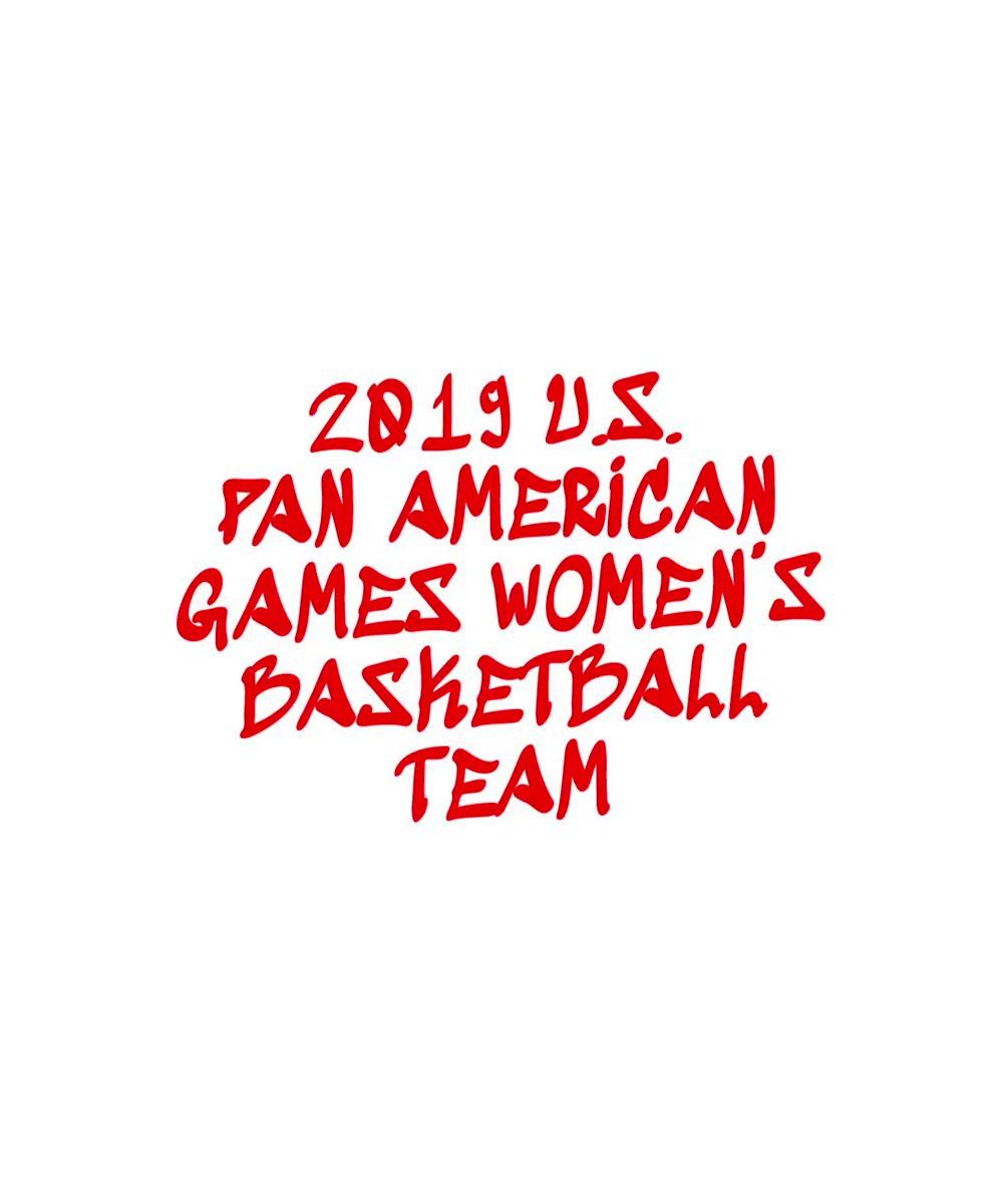 🔴Introducing the 2019 U.S. Pan American Games Women's Basketball Team...  #USABWPAG // #Lima2019