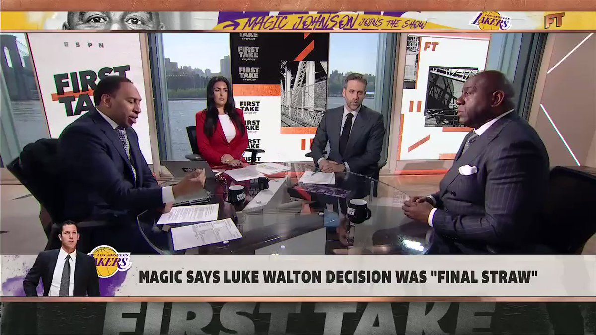First Take's photo on Rob Pelinka