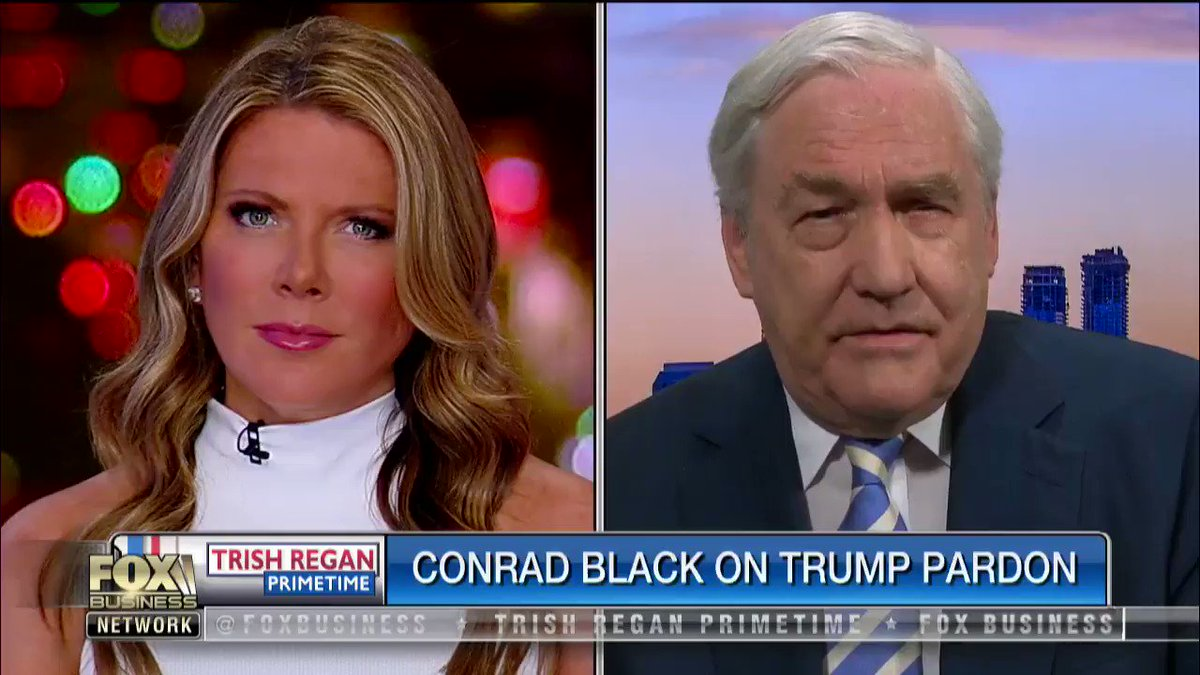 Fmr. media mogul @ConradMBlack SLAMS former heads of our intel agencies, accusing them of total BIAS: .. they set up that echo chamber with the #SteeleDossier, which is the dirtiest political trick in American history. #TrishRegan #SpyGate