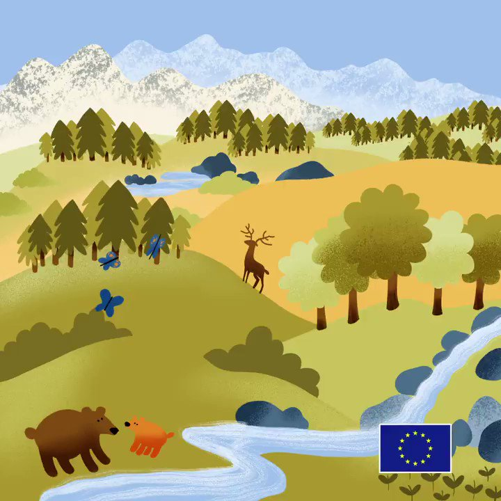 Happy #Natura2000Day! 🌲🐦🌿🐻 🌊 Nature knows no borders! #Natura2000 is the largest coordinated network of protected areas in the world! Lets protect and enjoy our shared 🇪🇺 heritage! ec.europa.eu/environment/na… #EUProtects #EUBiodiversity #EUElections2019 #EUandME