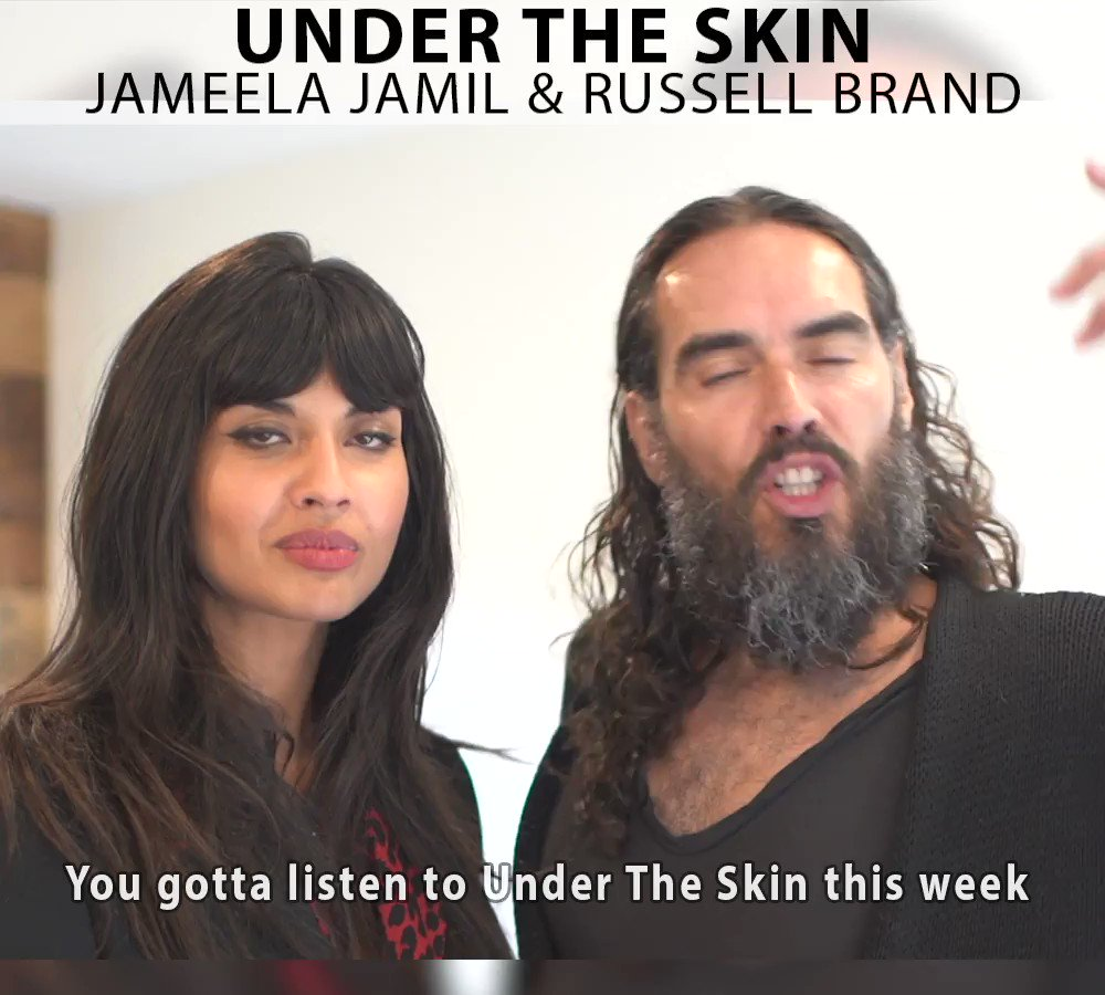 Image for the Tweet beginning: This week's guest on #UnderTheSkin