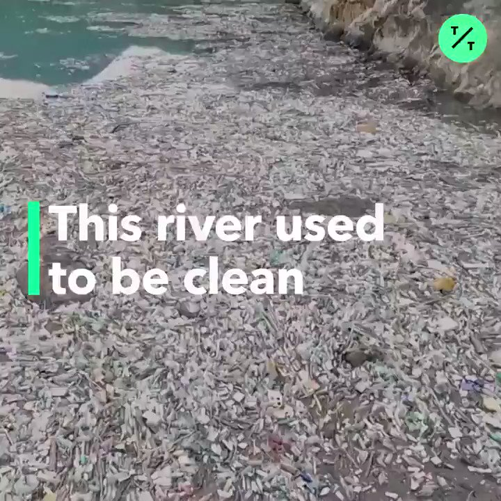1,000 tons of garbage is released into Bosnia's environment every day. Now, the Drina river is paying the price