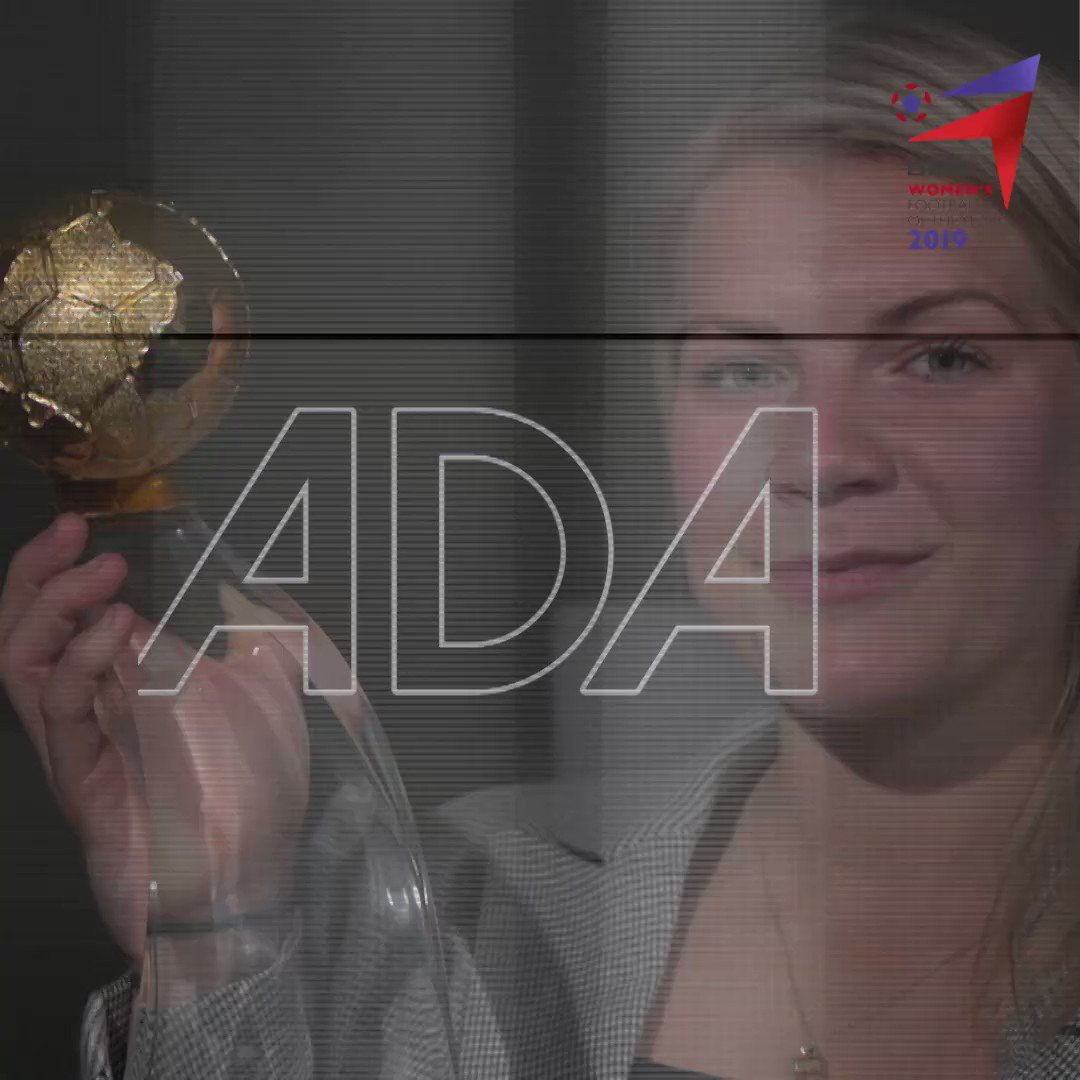 ICYMI:  Lyon's Ada Hegerberg has been voted the BBC Women's Footballer of the Year for 2019.  We surprised her in Oslo with her award...  #BBCWFOTY #ChangeTheGame