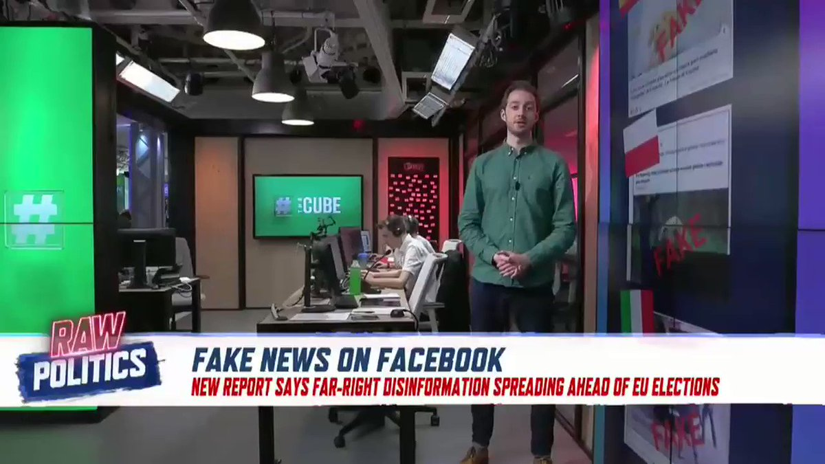 #TheCube | Fake News networks are spreading disinformation throughout Europe on social media.   But how do these networks operate and how coordinated are they?   @NewsAMorgan in The Cube has more.   https://bit.ly/2I9hAkr