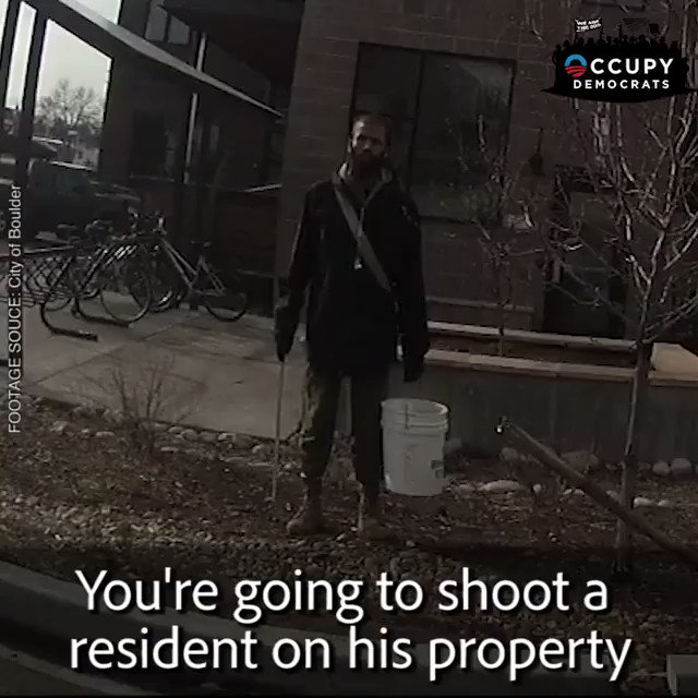 BREAKING: New video shows a black college student being racially profiled and held at gun point by a Colorado cop for picking up trash outside of his dorm! Unbelievable! The cop gets humiliated at the end...