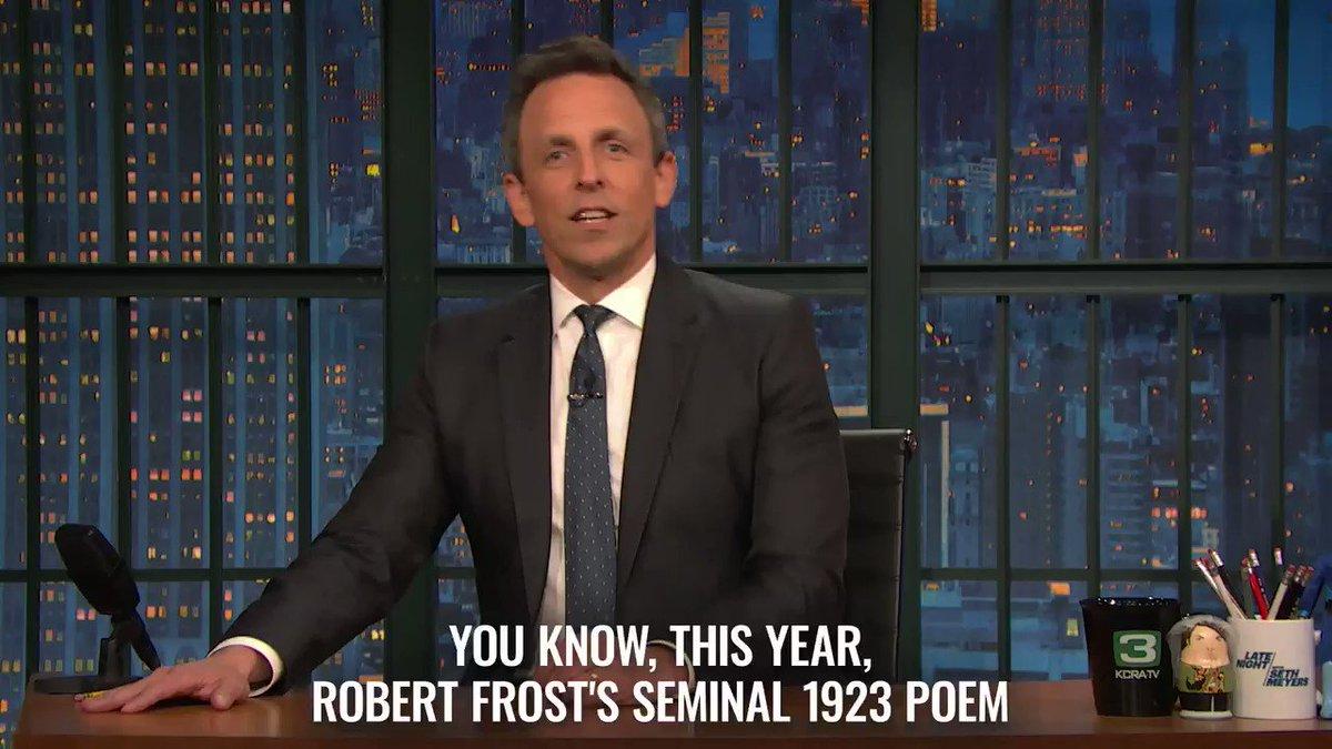 .@BenWarheit imagines how it would sound if Robert Frost went emo.