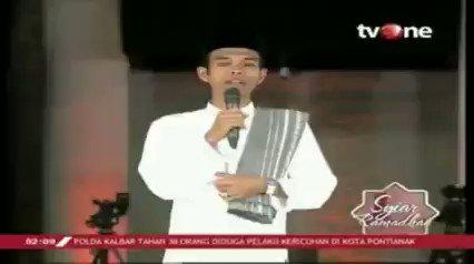 Syiar Ramadhan, bersama Ustadz Abdul Somad dengan tema: Teknologi untuk Indonesia. Kamu juga bisa nonton full videonya di tvOne connect, android http://bit.ly/2CMmL5z & ios http://apple.co/2Q00Mfc #RamadhanditvOne #tvOneNews