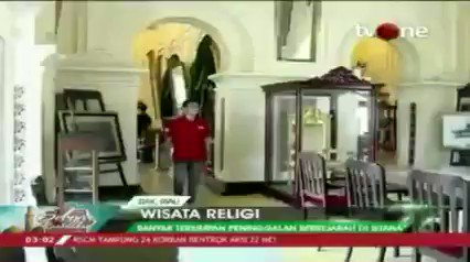 Istana Siak Sri Indrapura simbol kejayaan islam di Siak.Dapatkan berita lain hanya di tvOne connect, android http://bit.ly/2CMmL5z  & ios http://apple.co/2Q00Mfc #RamadhanditvOne #tvOneNews
