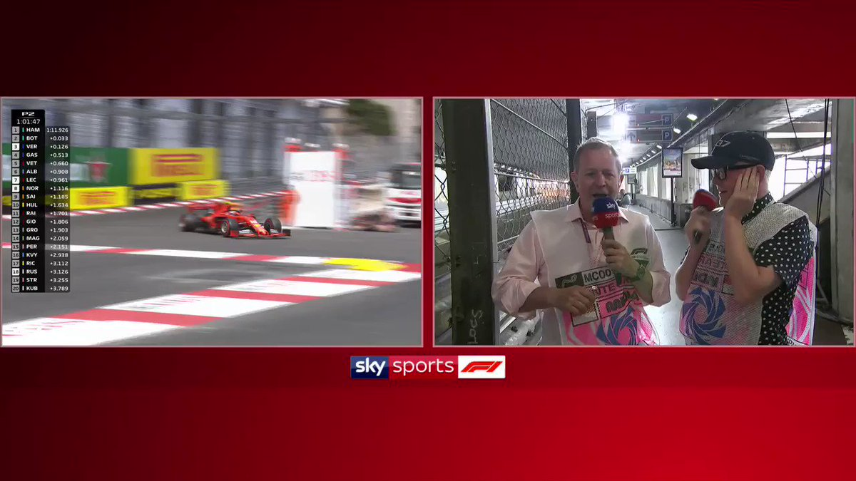 """🔊 Sound on from the tunnel! 🔊  """"It's the loudest thing I've ever heard in my life."""" 😂  @MBrundleF1 gave @achrisevans a taste of his trackside practice view at the #MonacoGP - and it's fair to say he enjoyed it!  Follow our blog: https://t.co/dsFCYRqRzo"""