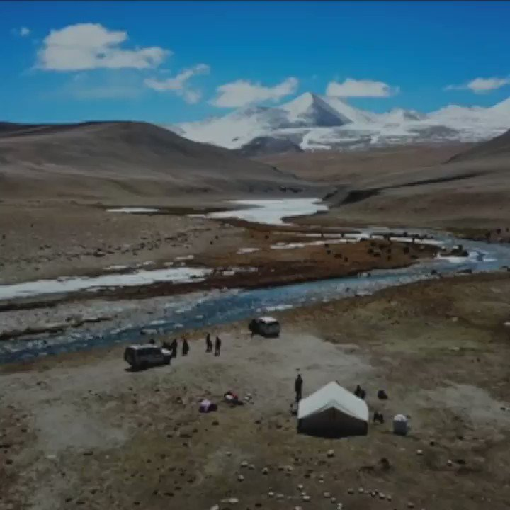 Is this the highest polling station in the world? 🏔️  BBC Journalist @AamirPeerzadaa spoke to The Fifth Floor about visiting the Anlay Pho nomads: https://bbc.in/2W2I6m4