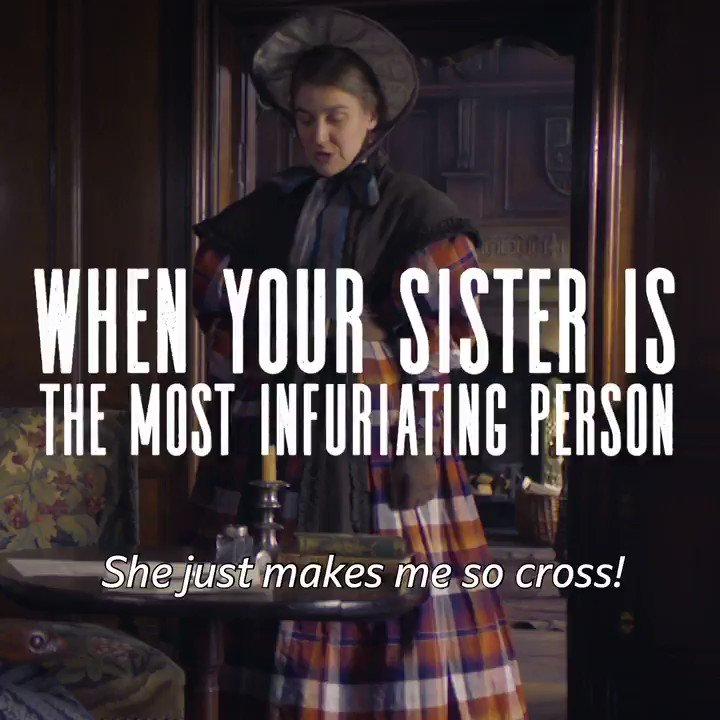 The line between love and hate with siblings is honestly very blurry. #ListerSisters #GentlemanJack