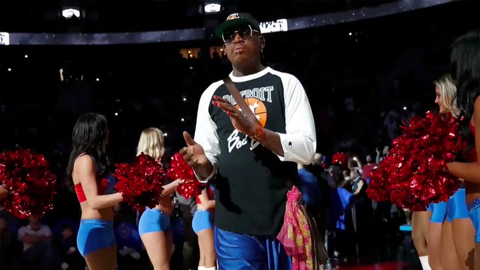Dennis Rodman allegedly got slap happy at his bday. Watch TMZ Sports tonight on at 10pm PT