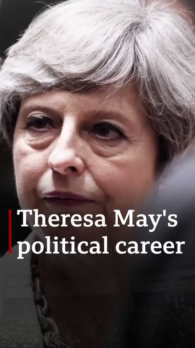 The Brexit prime minister: The highs and lows of Theresa May's political career  [Tap to expand] http://bbc.in/2VX8GwS